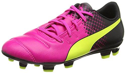 Puma EvoPower 4.3 Tricks FG Scarpa Calcio Bambino, Rosa, 11