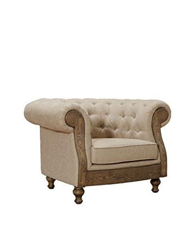 Armen Living Barstow Chair, Sand