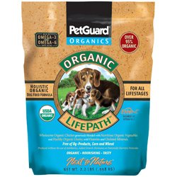 PetGuard Next To Nature Organic LifePath Chicken and Vegtable Dry Dog Food