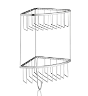 2 Tier Corner Shower Basket