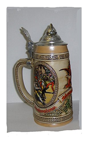 ANHEUSER BUSH BUDWEISER 1989 CS98 LIMITED EDITION LIDDED STEIN