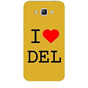 Skin4gadgets I love Delhi Colour - White Phone Skin for SAMSUNG GALAXY GRAND MAX (G720)