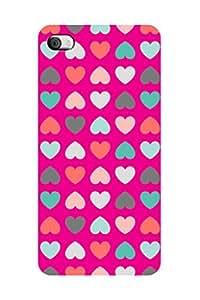 ZAPCASE Printed Back Case for I Phone 4