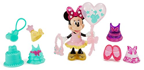 Disney Minnie Mouse Birthday Gala Minnie Doll (Fisher Price Clip On Dolls compare prices)