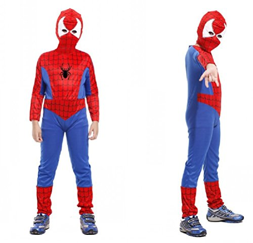 Purplebox Halloween Costumes Children Spiderman Tights