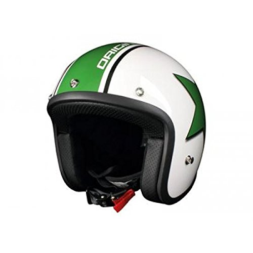 Casque origine primo astro blanc brillant/vert s - Origine OR001053