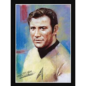 (11x17) Star Trek (Captain Kirk) Art Print Poster