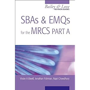 SBAS and EMQS for the MRCS Part AA Bailey & Love Revision Guide  41CGceyslYL._SL500_AA300_