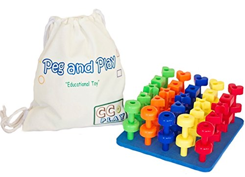 Building Toys For 3 Year Olds : Best peg toy building set for smart toddlers great