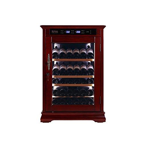 royal cave constant temperature wine cellar cabinet u0026 rack 138 litre