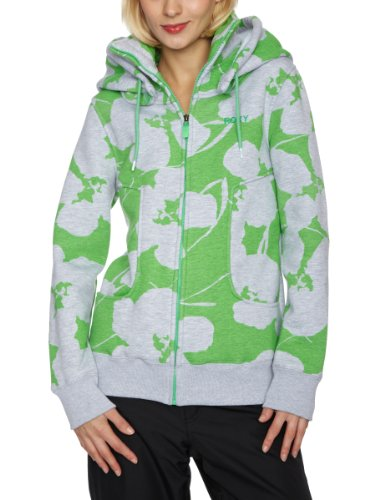 Roxy P Machinery Women's Sweatshirt Abstrac Flower Green X-Small