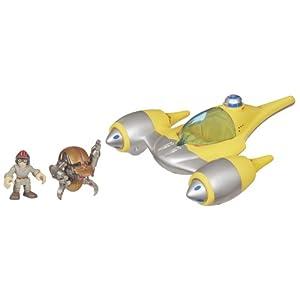 Star Wars Jedi Force Naboo Starfighter With Anakin R2D2