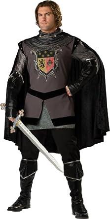 InCharacter Costumes, LLC Dark Knight Adult Set, Gray/Black, X-Large