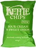 Kettle Sour Cream and Sweet Onion 150 g (Pack of 4)
