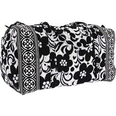 Vera Bradley Large Duffel in Night & Day