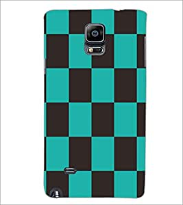 PRINTSWAG SQUARE PATTERN Designer Back Cover Case for SAMSUNG GALAXY NOTE EDGE