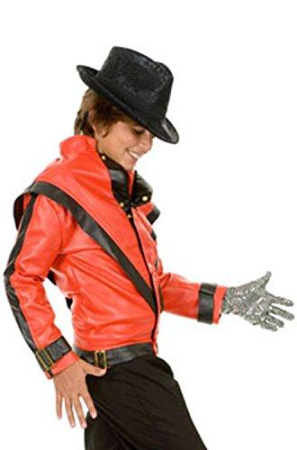 [Boys Michael Jackson Thriller Costume Jacket] (80s Singers Costumes)
