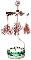 Christmas Poinsettia Rotary Candleholder from Pluto Produkter AB
