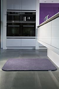 "Hug Rug Luxury Plain Door Mat approx 19"" x 29"" Velvet Purple"