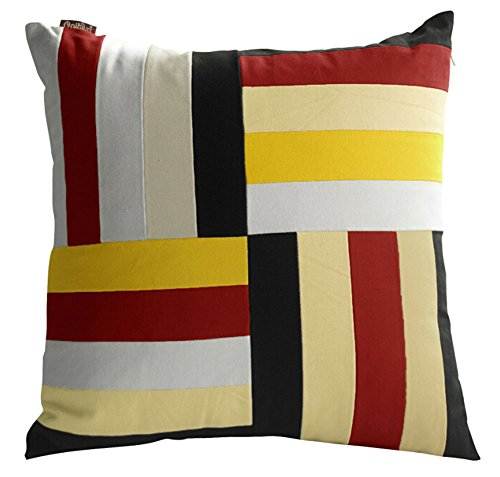 Stripe Dekorative Kissen Dekorative Kissenbezug aus Baumwolle Kissen Multicolor