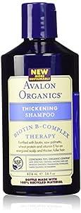 Avalon Organics Biotin B-complex Therapy Thickening Shampoo 14 Oz by Avalon Organics