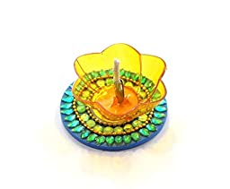 Amba Handicraft Floating Diwali Pooja Diya for Gift/Special Home Décor -01