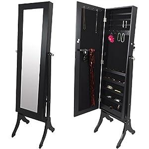 gro er schmuckschrank schmuckkommode spiegelschrank. Black Bedroom Furniture Sets. Home Design Ideas