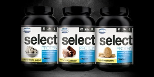 Select Protein (Snickerdoodle) 27 Servings, 837 G (1.85 Lbs)