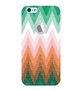 EPICCASE green affair Mobile Back Case Cover For Apple iPhone 6, 6S Logo Cut (Designer Case)