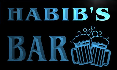 cartel-luminoso-w008852-b-habib-name-home-bar-pub-beer-mugs-cheers-neon-light-sign