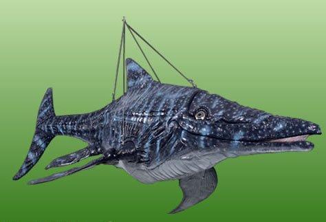 FRP製恐竜オブジェ  イクチオサウルス  fr140075