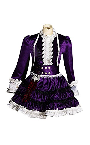 [Mtxc Women's League of Legends Cosplay Costume Annie Dress Size Large Purple] (League Of Legends Annie Cosplay Costume)