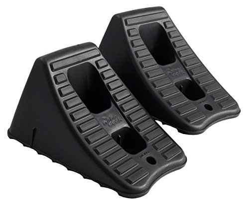 FloTool 11930MI Heavy Duty Wheel Chocks, Set of 2 (Trailer Tongue Lock compare prices)