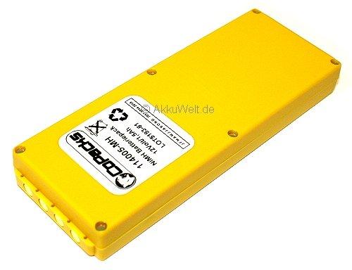 Batterie pour télécommande de grue hBC radiomatic fUB10AA fUB10XL fUB78AA 1500mAh