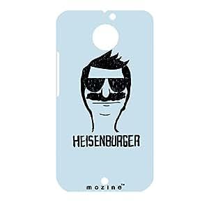 Mozine Heisenburger printed mobile back cover for Motorola Moto X 2nd gen