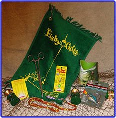 Bucket - O - Accessories / Fishing Gift Basket