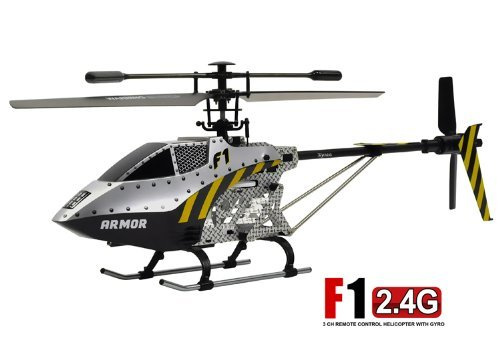 Syma F1 Armor Large 3 Channel 2.4Ghz Single Rotor RC Helicopter with Gyro