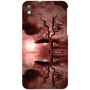 HTC Desire 816 Back Cover - Nature Love Designer Cases