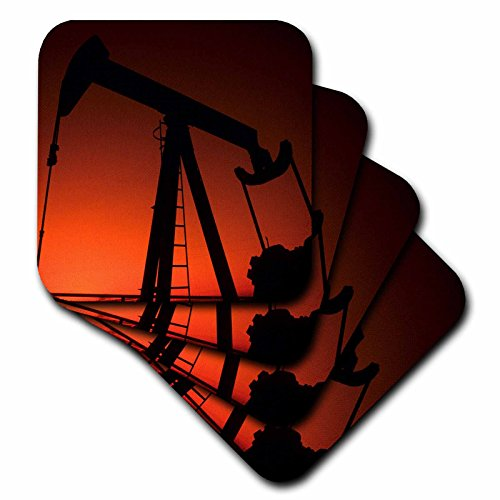 3drose-cst-93394-2-industry-oil-rig-tulsa-oklahoma-us37-bba0001-bill-bachmann-soft-coasters-set-of-8