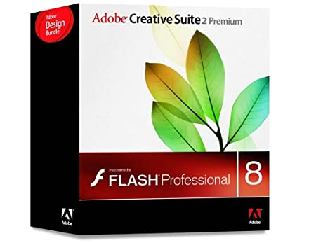 Adobe Creative Suite CS2 Premium Design Bundle with Macromedia Flash Pro 8 [Old Version]