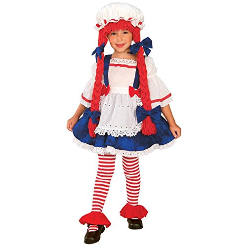 Child's Toddler Yarn Rag Doll Costume (2-4T)
