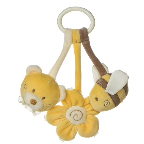 Aurora Baby Tag Along Toy, Honey Bear