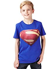 Pure Cotton Short Sleeve Superman™ T-Shirt