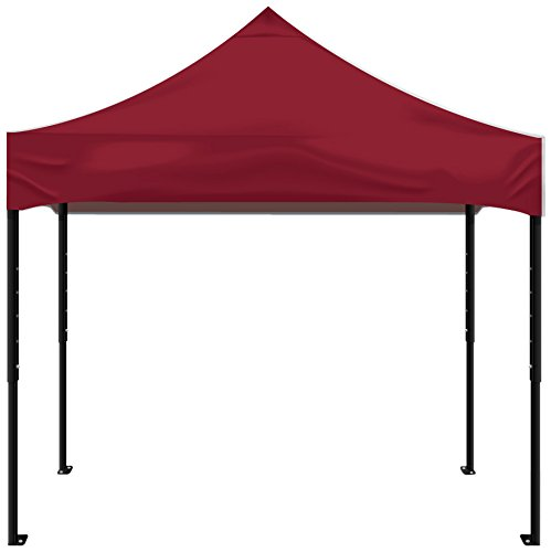 Kd Kanopy Psk100M Party Shade Steel Frame Indoor/Outdoor Portable Canopy, 5 By 5-Feet, Maroon