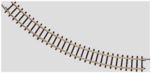 "Marklin 5  -3/4"", 45 - Degree Z Scale Curved Track. 10 pack - 1"