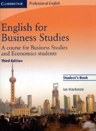 English for Business. A course for Business Studies and Economics students. Student's Book.