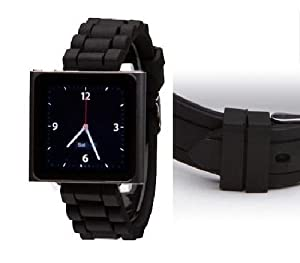 Wrist Jockey Sport - Black (iPod nano watch band)