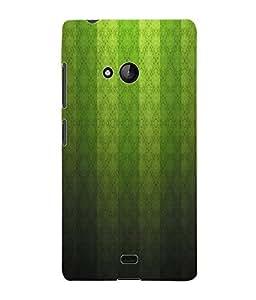 Fuson 3D Printed Pattern Design Designer Back Case Cover for Microsoft Lumia 540 - D934