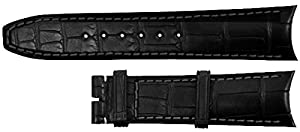 Baume et Mercier 21MM Black Alligator Pattern Strap MX007G0Z