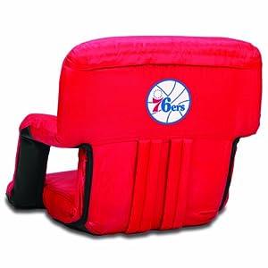 NBA Philadelphia 76ers Ventura Portable Reclining Seat by Picnic Time